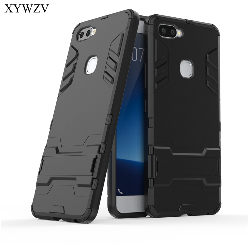 For Cover Vivo X20 Plus Case Silicone Robot Hard Rubber Phone Cover Case For Vivo X20 Plus Cover For Vivo X20Plus Coque XYWZV-in Fitted Cases from Cellphones & Telecommunications