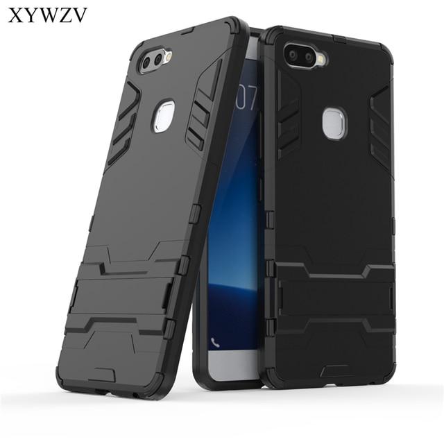 For Cover Vivo X20 Plus Case Silicone Robot Hard Rubber Phone Cover Case For Vivo X20 Plus Cover For Vivo X20Plus Coque XYWZV