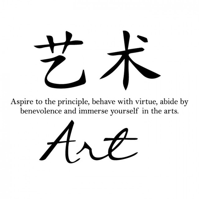 Chinese Symbolen Muurstickers Quotes Perfecte Kwaliteit Art Symbool