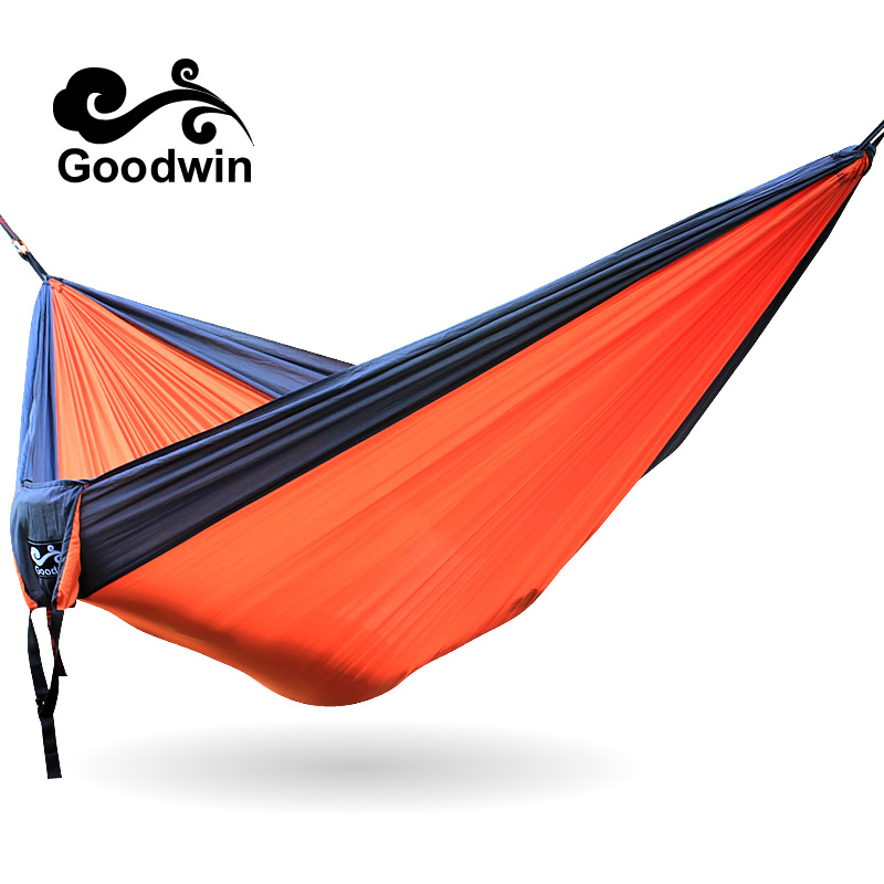2in1 3in1 Double Hammock Camping Survival Hammock Parachute Cloth Portable Double Person Hammock outdoor Leisure 210t taffeta outdoor parachute cloth hammock nets double hammock military regulations air tent