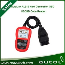 Original Autel AutoLink AL319 Next Generation OBD II / EOBD Auto Code Reader AL319 with free shipping