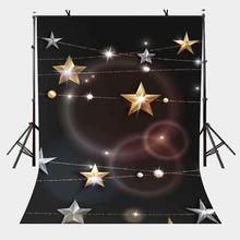 5x7ft Dark Series Backdrop Pentagram Pearl Simple Photography Background and Studio Props