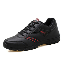 Hot Sell 2017 Mens Running Sneakers Sale Autumn Winter Mens Walking Jogging Sneakers Black Sneakers Online