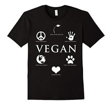 Why go vegan? Men's T-Shirt
