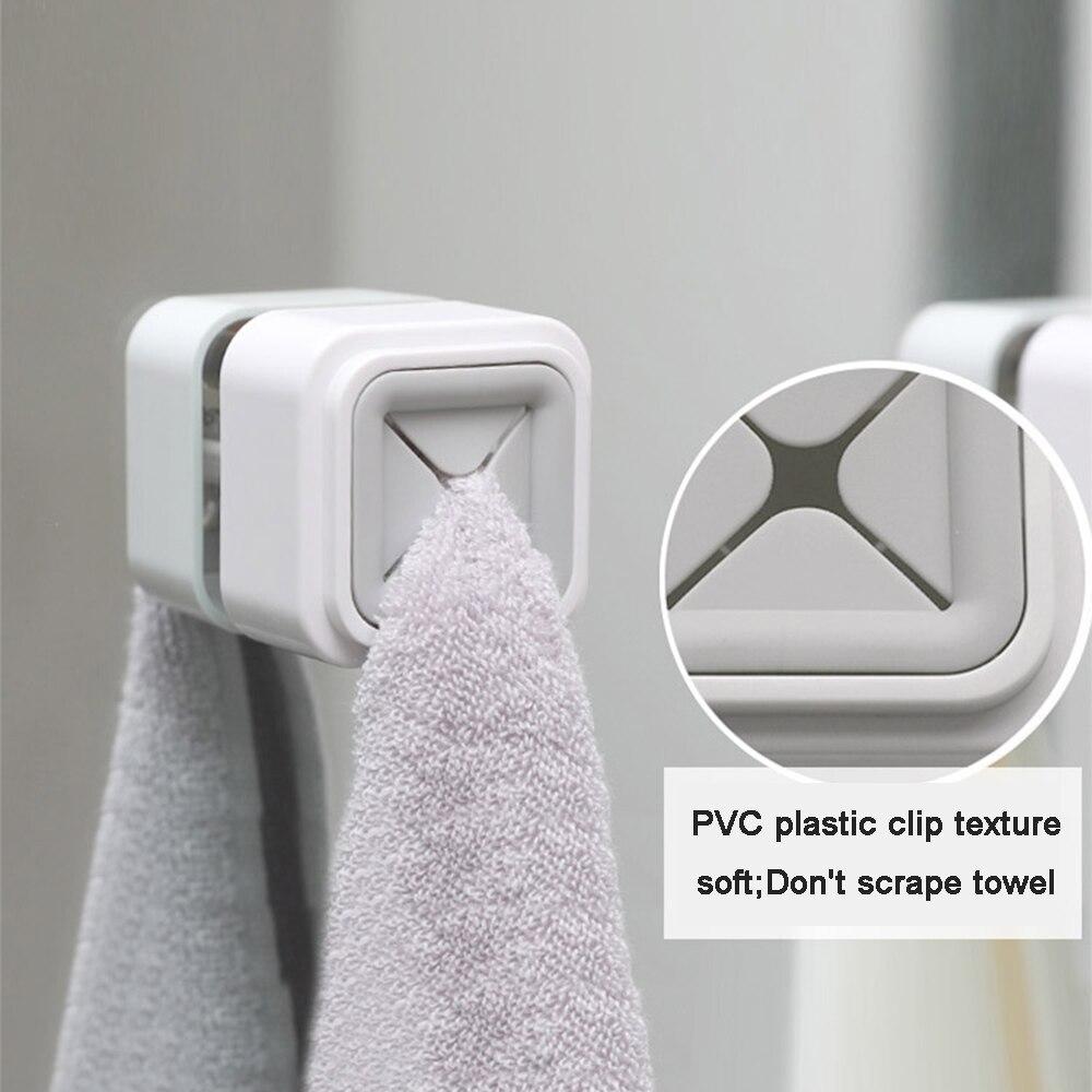 Rack Towel-Holder Washing-Cloth-Hanger Bathroom-Tool Kitchen-Storage-Hooks Wall-Window