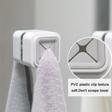 1 Uds. Soporte de toalla ventosa Ventana de pared herramienta de baño conveniente ganchos de almacenamiento de cocina lavado perchero percha ropa nueva