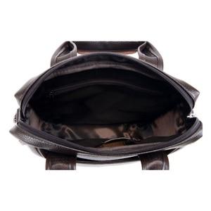 Image 5 - Vormor marca de couro do plutônio dos homens sacos moda masculina mensageiro sacos pequeno homem maleta casual crossbody bolsa ombro