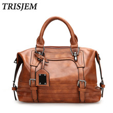 Women Leather Handbags Women Crossbody Bag Female Shoulder Bag Vintage Luxury Brand Handbag Tote sac a main Ladies Hand Bags