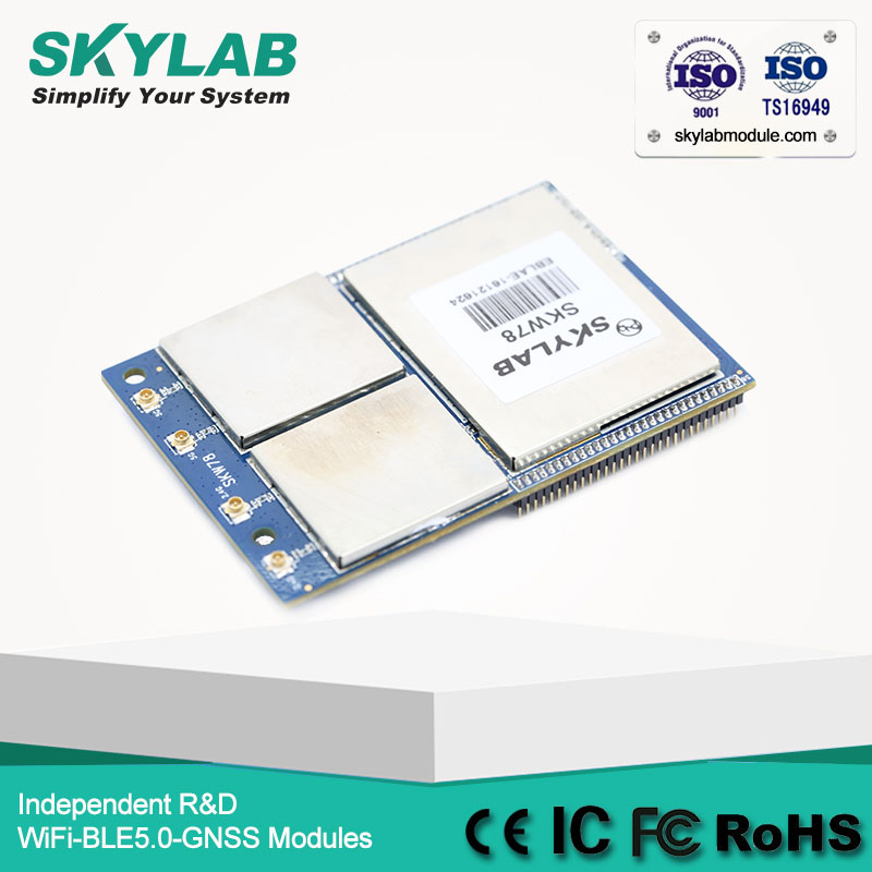 MT7621A I2C/USB/WAN 2.4GHz 300Mbps 5.0GHz 867Mbps large data transmission ac ap WiFi Module