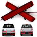 2 pcs Carro LEVOU Choques Refletor Traseiro Led Vermelho Parar de Estacionamento Aviso Luzes de freio Lâmpada de Cauda Para L322 Range Rover Freelander 2 LR2