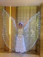 2017 new style white,pink,black Adult kids Women ballet leotard female ballet tutu dress LED lights opening dance dress