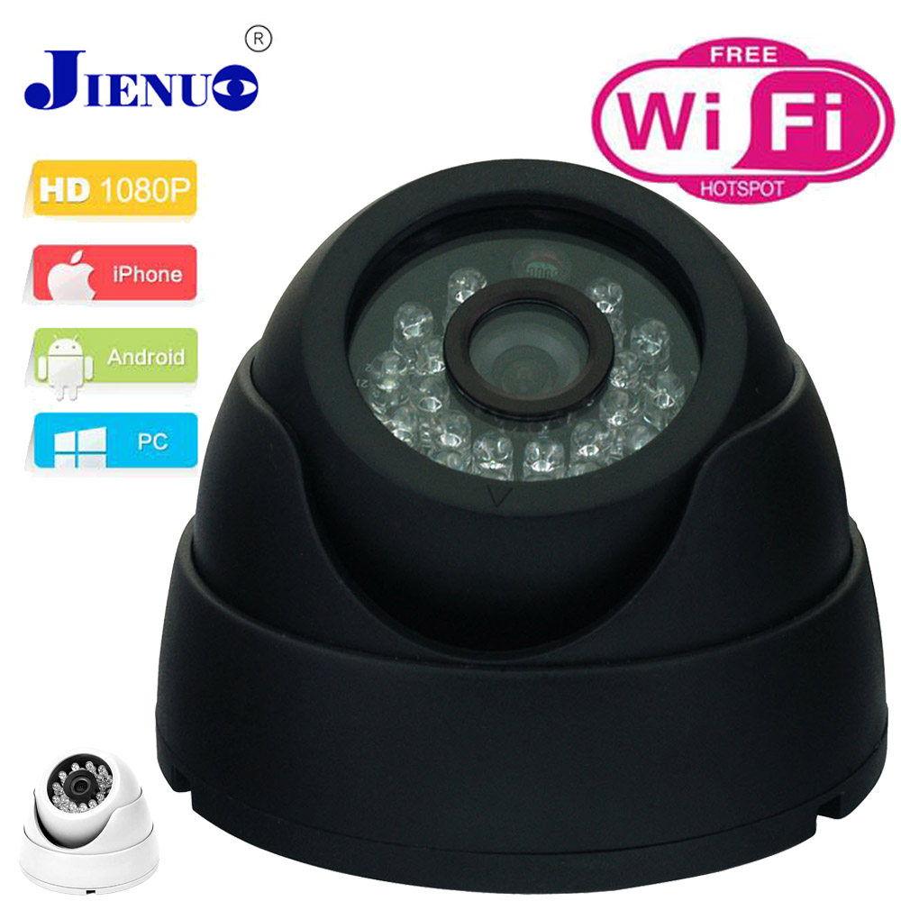 CCTV Ip Camera 1080p Wireless Video Surveillance Cameras Mini Camera Wifi 2.0 MP HD Dome Camera P2P Network Onvif Cam JIENU full hd ip camera 5mp with sound dome camera ip cam cctv home security cameras with audio indoor cameras onvif p2p