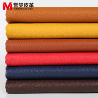 Litchi Sofa Leather Fabric FAUX LEATHER SHEETS