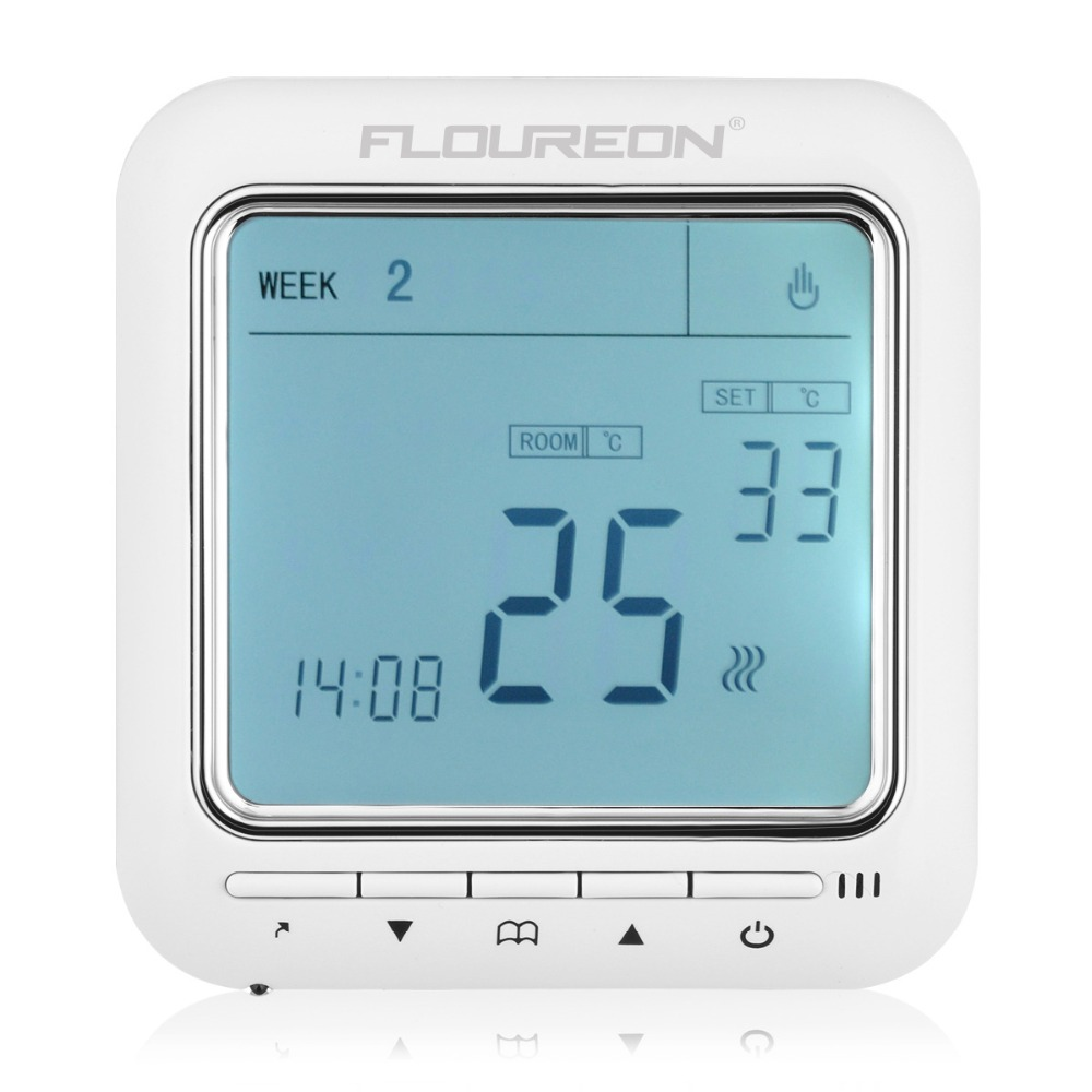 New Programmable Anti Freezing Heating Thermostat Lcd Room