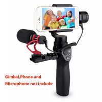 Comica CVM-VM10 II Microphone for DJI OSMO Mobile Plus Smartphone GoPro Micro Camera Cardioid Directional Shotgun Microphone