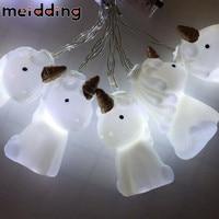 MEIDDING 1set Party Decoration LED Unicorn Shape Lamp String Kids Room Night Light DIY Christmas Home