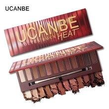 12 цветов мерцающий матовый тени для век палитра теней для век роскошные косметические палитры теней Лучший!