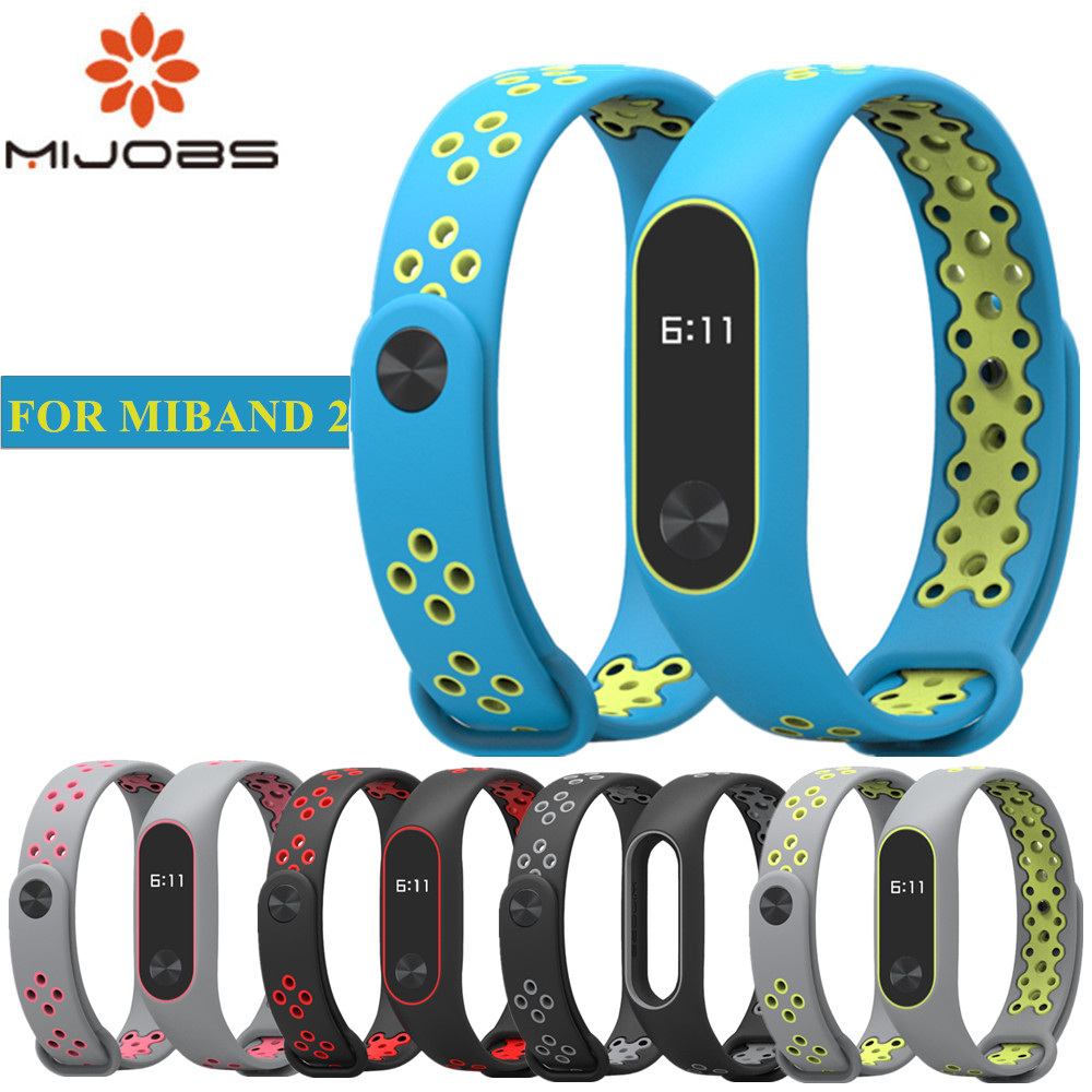 Mi Band 2 Strap Bracelet wrist strap for Xiaomi mi band 2 watch xiomi Mi band2 accessories smart bracelet sport Silicone Strap