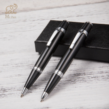 Luxury Mini Metal Ballpoint Pen High Quality Roller Black Ink Refill for Business Writing Tools Office School Supplies
