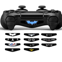 2 PCS Customized Cool Recreation Vinyl LED Stickers Decal Lightbar Shield Pores and skin for Ps four Dualshock four PS4 Slim PRO Controller