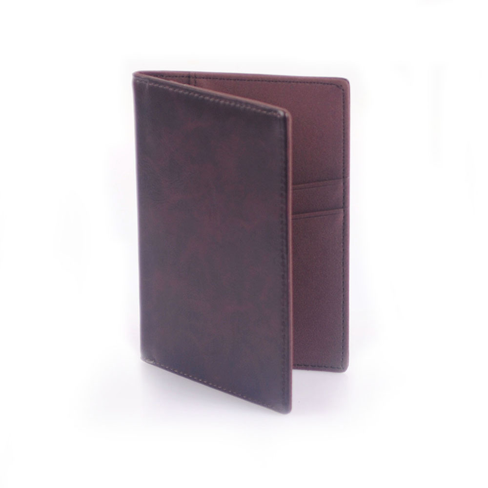 1pc PU Leather Passport Cover Casual Business Card Holder Men Credit Card ID Holders Card Bags