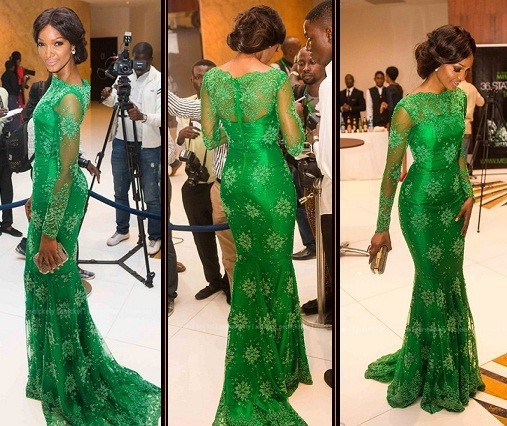 Boat Neck Mermaid Evening Dresses Red Carpet Dress Emerald Green Long Sleeve Women Formal