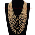 Hot Fashion Women Chain Statement Collar Bib Pendant Necklace Jewelry