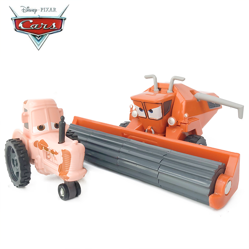 Disney Pixar Cars Diecast Tractor And Frank Diecast Metal  Alloy Model Cars Disney Car 1:55 Toy Collection Kids Best Gift