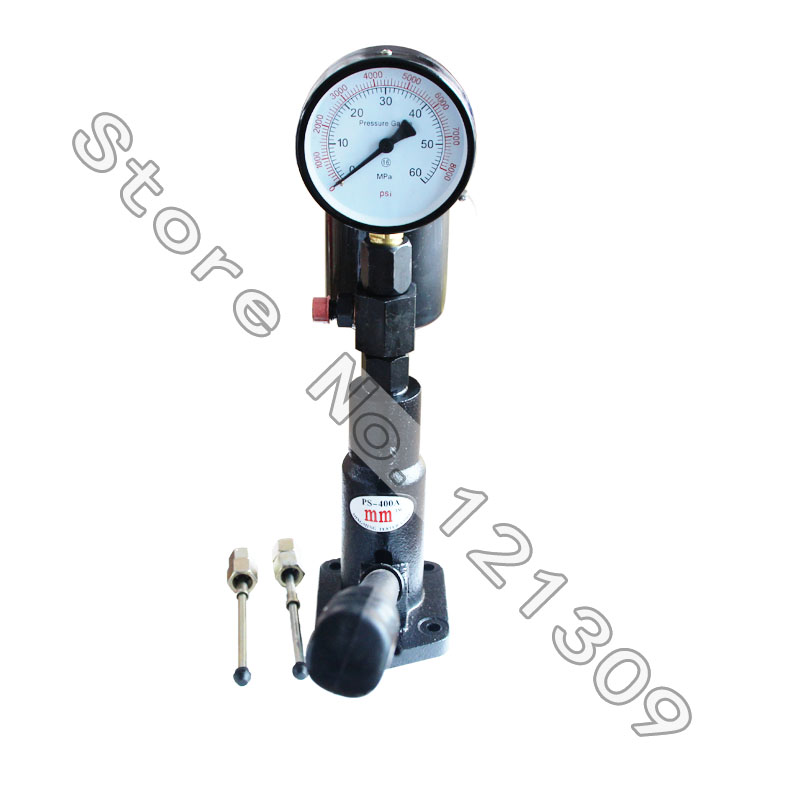 Professional Diesel Fuel Injector Nozzle Tester Pop Pressure Tester Dual Scale PS400AI  60h diesel injector nozzle tester