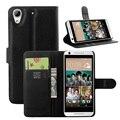 Телефон чехол для HTC Desire 626, полипропилен Desire626 капа fundas бумажник кожа перевёрнутый чехол с карта держателем и стойка функция сумки