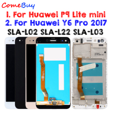 US $15.19 5% OFF|For Huawei P9 Lite mini LCD Display Touch Screen For Huawei Y6 Pro 2017 LCD With Frame P9 Lite mini LCD SLA L02 L22 L03 Screen-in Mobile Phone LCD Screens from Cellphones & Telecommunications on AliExpress - 11.11_Double 11_Singles' Day