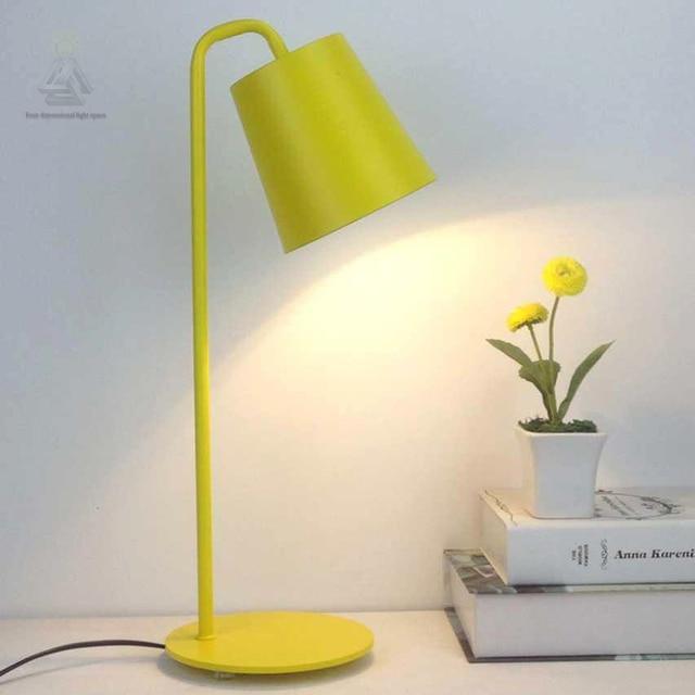 Modernen Minimalistischen Metall Tischlampe Für Wohnzimmer