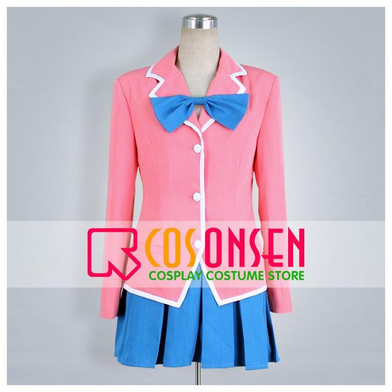 COSPLAYONSEN Yu Gi Oh Anzu Mazaki Cosplay Costume All Size Custom Made