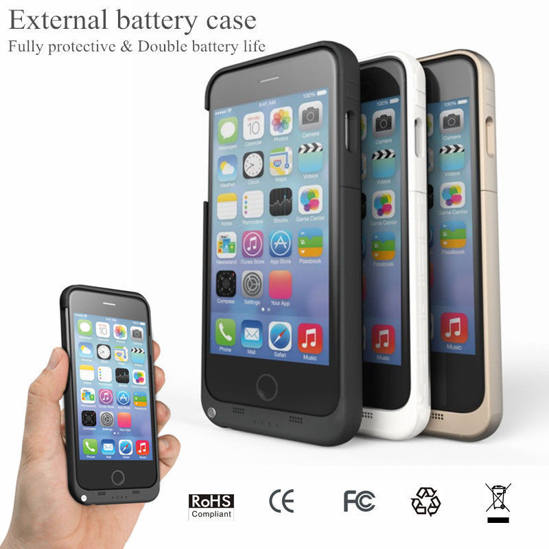 3200mAh External Battery Case Backup Charger Case Cover Power Bank For apple iPhone 6 6s 4