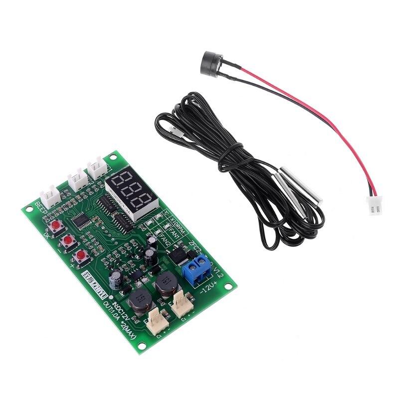DC12V 2-канал 3-провод термостат Температура Скорость