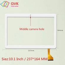 Черный 10,1 дюйма для емкостной сенсорной панели MediaTek T906 T 906, запасные части размером 237x164 мм
