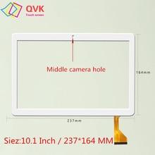 Czarny 10.1 cala dla MediaTek T906 T 906 pojemnościowy ekran dotykowy część wymienna panelu części rozmiar 237x164mm