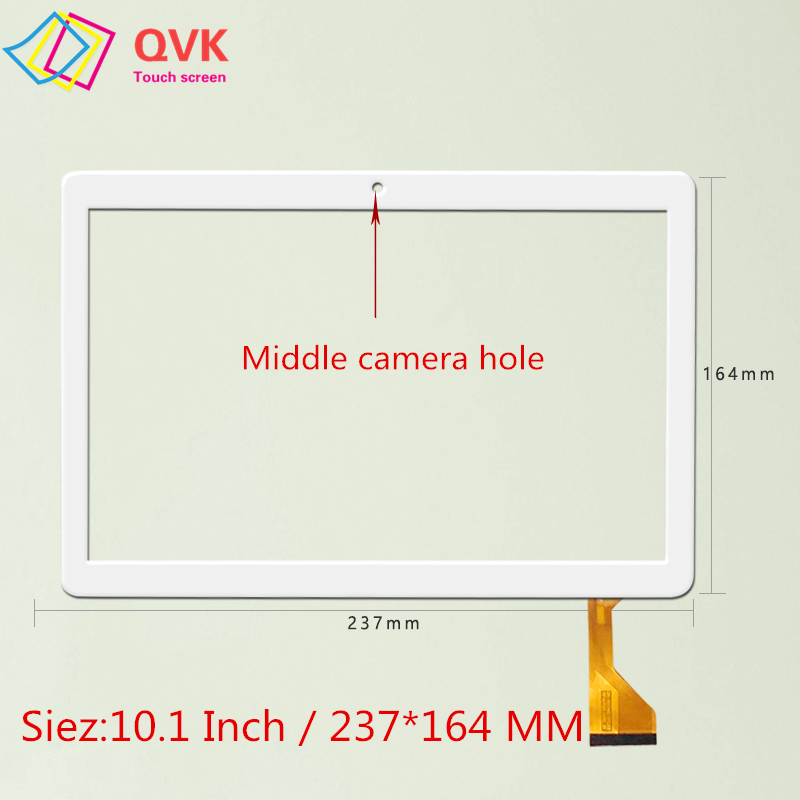 White Black 10.1 inch for MediaTek T906 T 906 Capacitive touch screen panel repair replacement parts-in Tablet LCDs & Panels from Computer & Office
