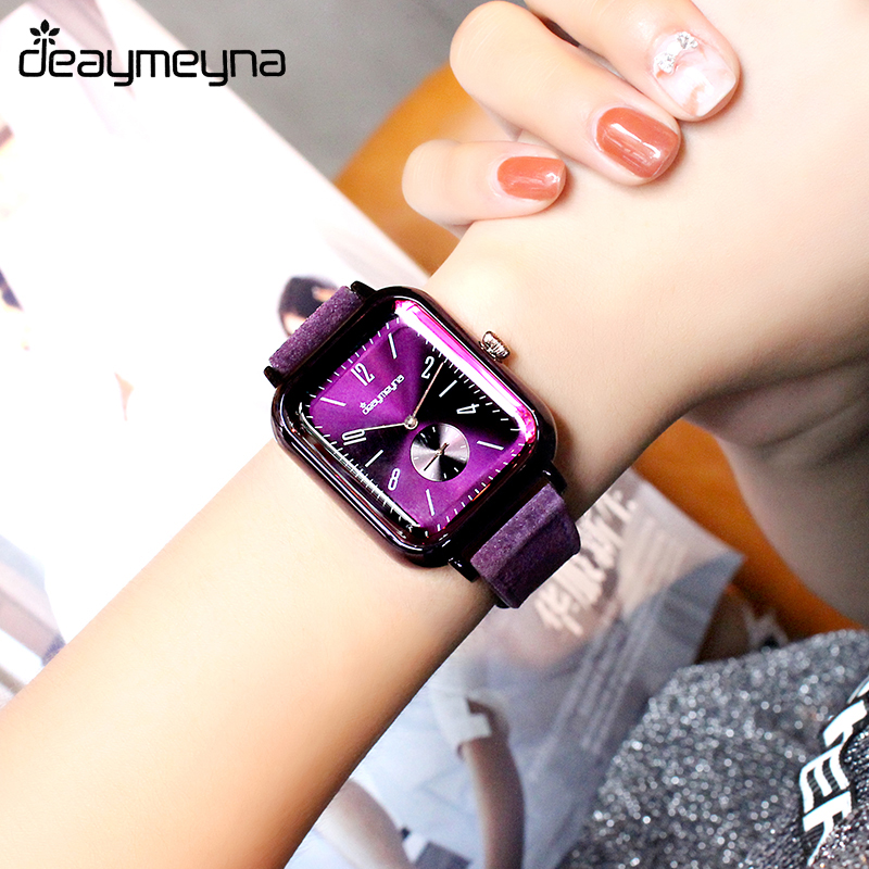 Deaymeyna Fashion Leather Women Watches Luxury Lady Dress Watches Women Wrist Watch Quartz Watch Girl Gifts Present Dropshipping women lady dress watch retro digital dial leather band quartz analog wrist watch watches for dropshipping