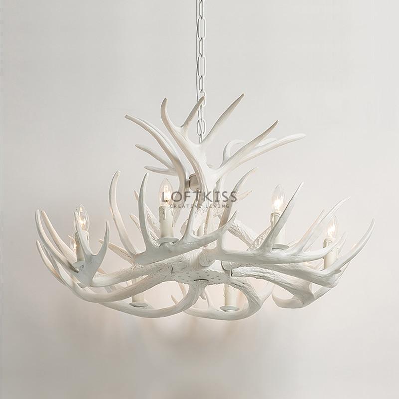 achetez en gros bois de cerf lustre en ligne des. Black Bedroom Furniture Sets. Home Design Ideas