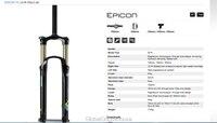 """система Suntour epicon-старшая модель-тр радиоуправляемый вилка 130 мм 140 мм и 150 мм регулируемая путешествия а . м . / след велосипед MTB вилка 26 """" 15 мм м-лок через конические ло-р-15qlc-26"""
