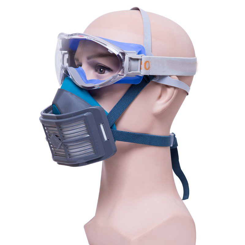 Dusk Mask Anti-Dust Respirator Filter Mask PM2.5 protective masks breather valve Facepiece Painting Spraying industrial dust
