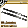 Car-styling For Nissan GTR R35 Nismo Style Carbon Fiber Side Skirt