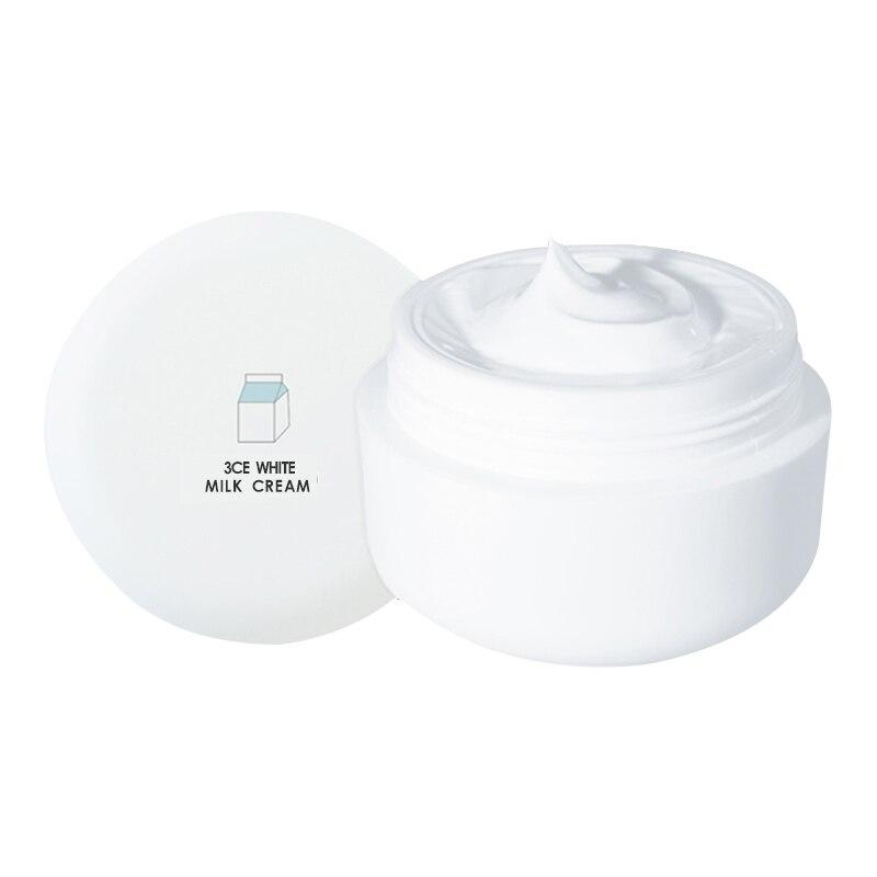 Stylenanda 3CE White Milk Cream Whitening, Brightening Cream Vitamin E Moisuture stylenanda 9843 stylenanda2015