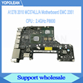 Подлинная материнская плата 2,4 ГГц P8600 для Macbook Pro 13
