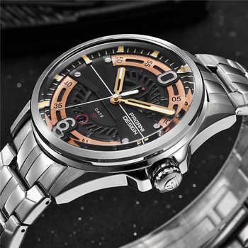 2019 Relogio Masculino PAGANI DESIGN Brand Quartz Watch Military Sports Stainless Steel Clock Waterproof Men Watch Fashion Men