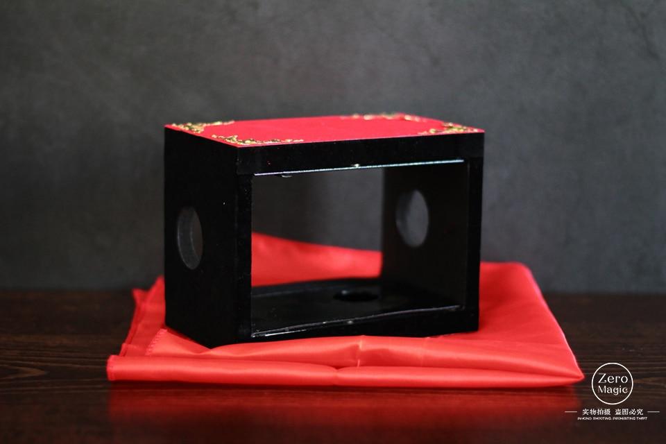 Silk Through The Fire/Fire Box - Magic Prop,Whosale,Fire,Props,Comedy,Ring,Magic Tricks,Gimmick,Magia Toys,Gadget,Joke,Classic