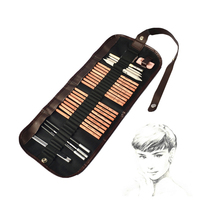 MARCO acemi kroki Araçları 8 parça suit + + kauçuk + kömür kalem işareti kalem kalem + kağıt + perde bıçak