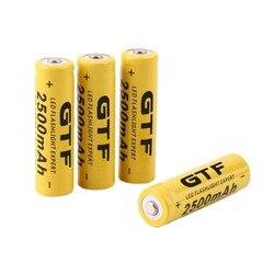 New 4 pcs set 14500 battery 3 7v 2500mah rechargeable liion battery for led flashlight batery.jpg 250x250