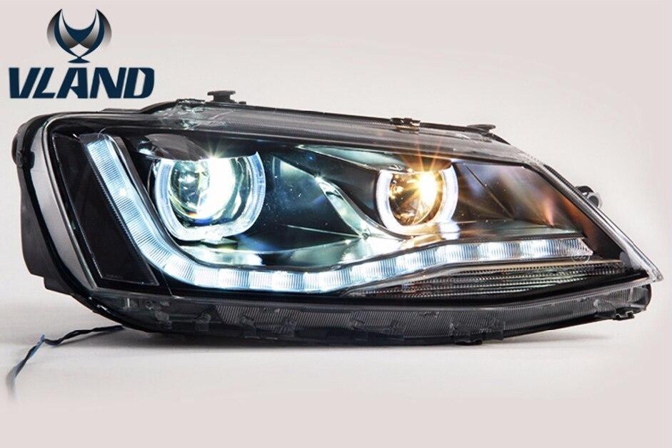 New Type Car Accessories new for Volkswagen Sagitar Head Lamp Jetta Headlight Modify Custom 2012-2017